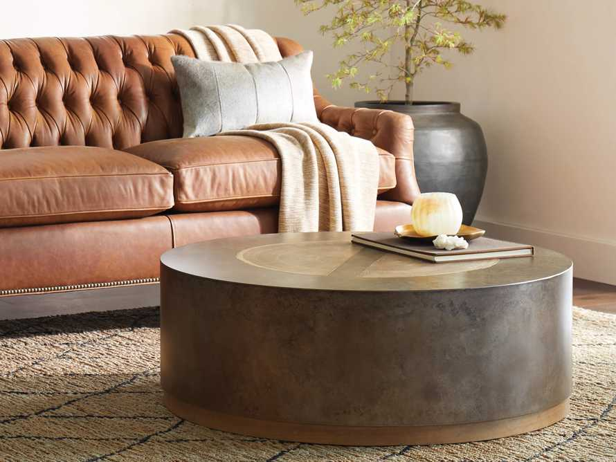 """Acacius 42"""" Round Coffee Table, slide 1 of 5"""