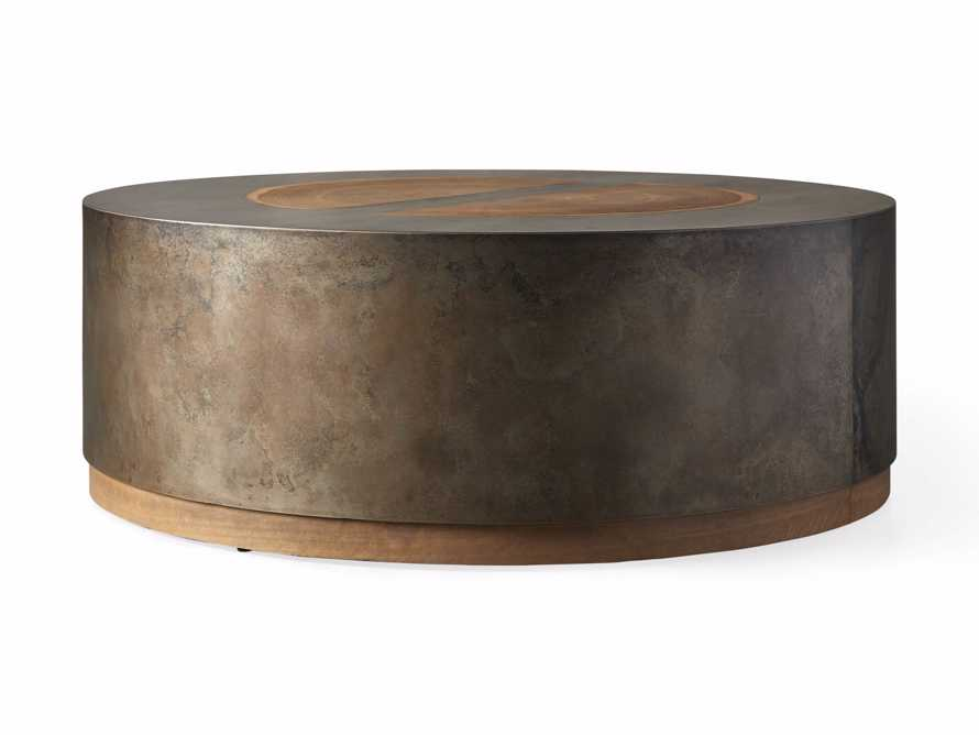 """Acacius 42"""" Round Coffee Table, slide 4 of 5"""