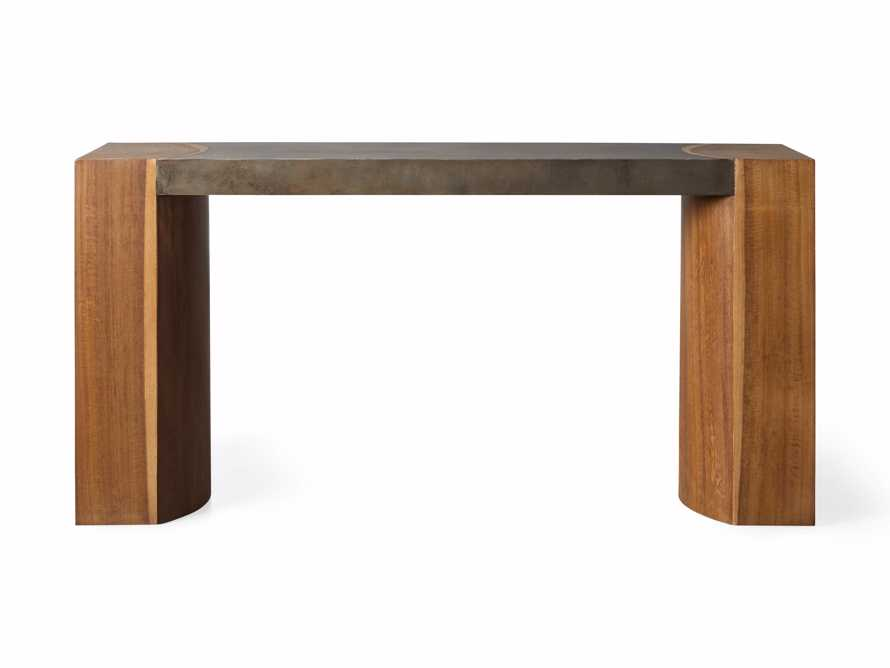 """Acacius 60"""" Console Table, slide 4 of 5"""