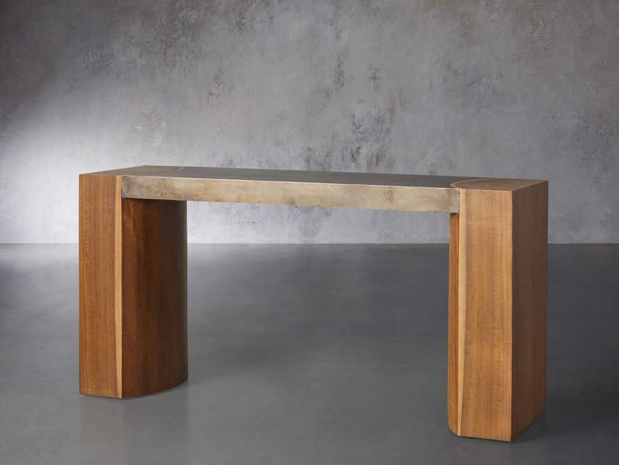 """Acacius 60"""" Console Table, slide 2 of 5"""