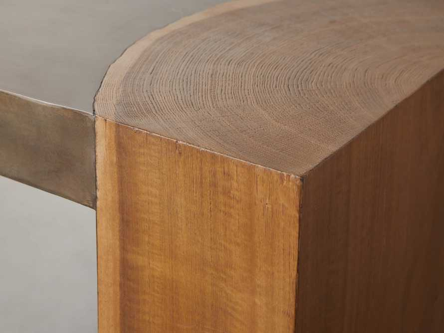 """Acacius 60"""" Console Table, slide 3 of 5"""