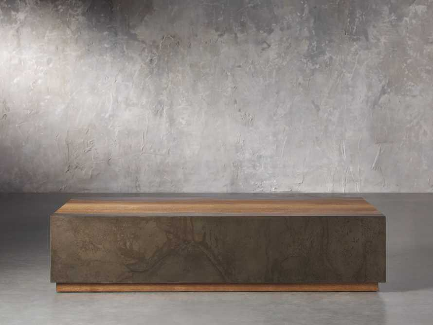 """Acacius 64"""" Rectangle Coffee Table, slide 1 of 4"""