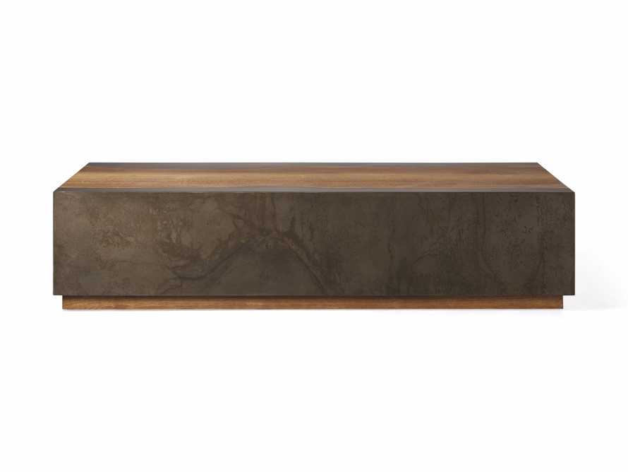 """Acacius 64"""" Rectangle Coffee Table, slide 4 of 4"""