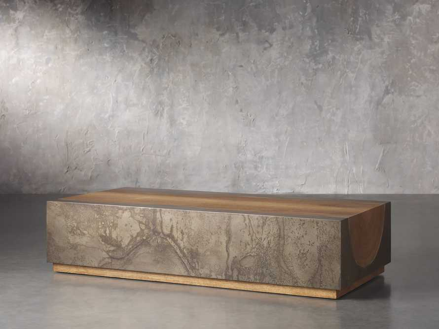 """Acacius 64"""" Rectangle Coffee Table, slide 2 of 4"""