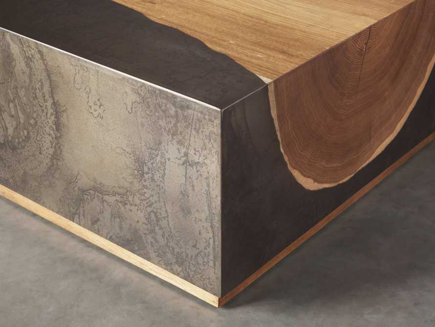 """Acacius 64"""" Rectangle Coffee Table, slide 3 of 4"""