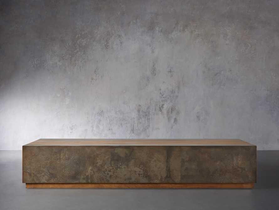 "Acacius 80"" Wood Coffee Table, slide 1 of 5"