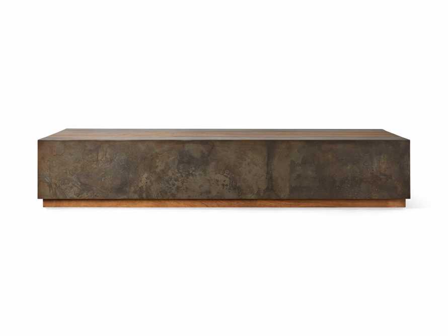 "Acacius 80"" Wood Coffee Table, slide 4 of 5"