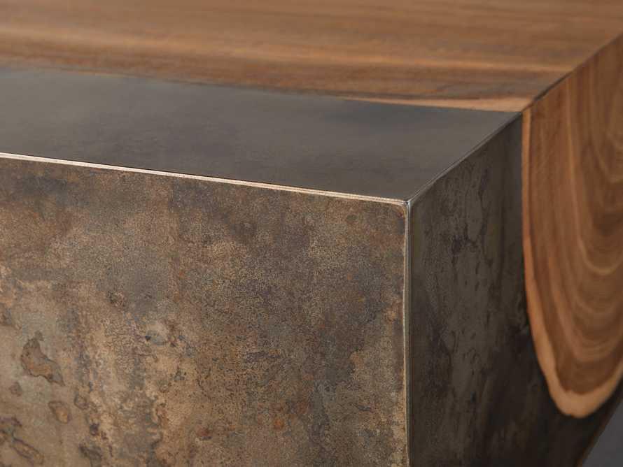 "Acacius 80"" Wood Coffee Table, slide 3 of 5"