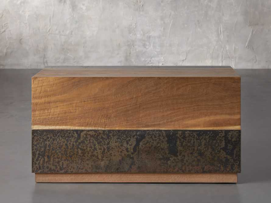 """Acacius 38"""" End Table, slide 1 of 6"""
