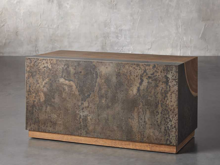 """Acacius 38"""" End Table, slide 3 of 6"""