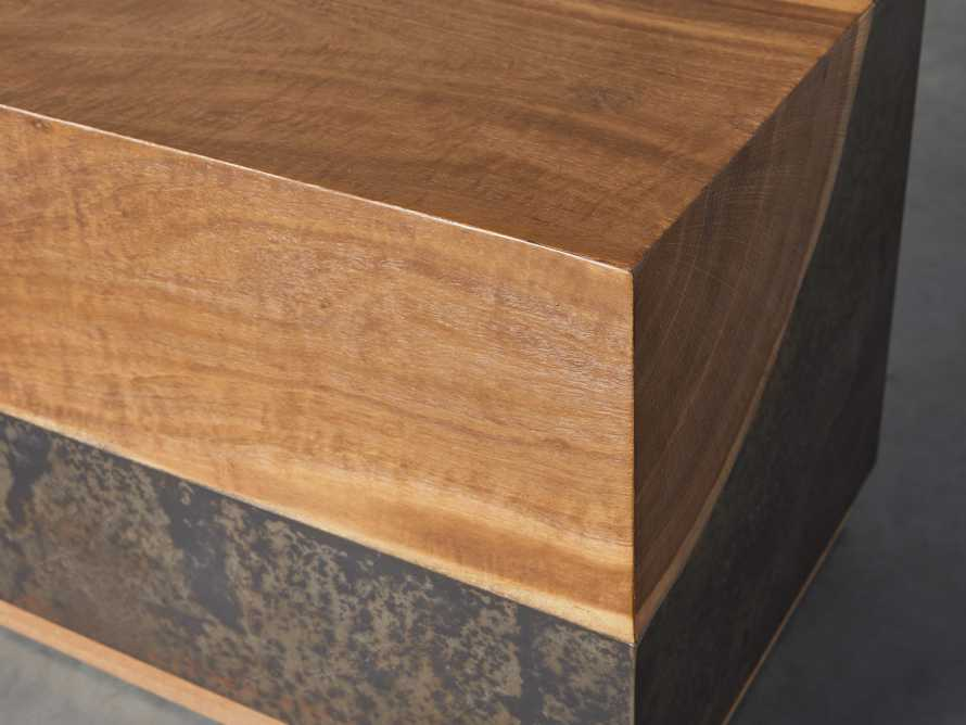 """Acacius 38"""" End Table, slide 4 of 6"""