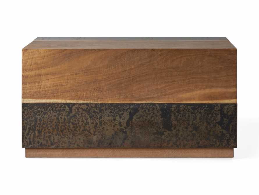 """Acacius 38"""" End Table, slide 5 of 6"""