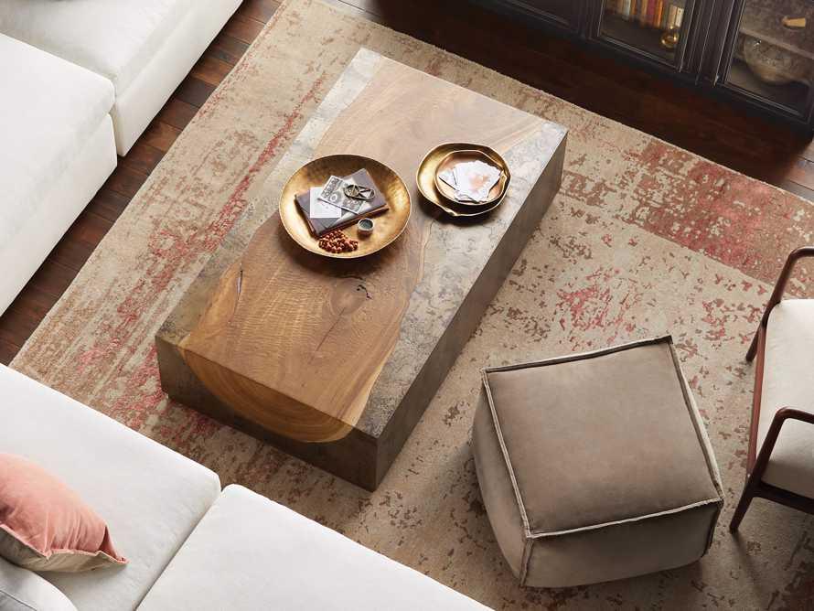 "Acacius 55"" Wood Coffee Table, slide 5 of 7"