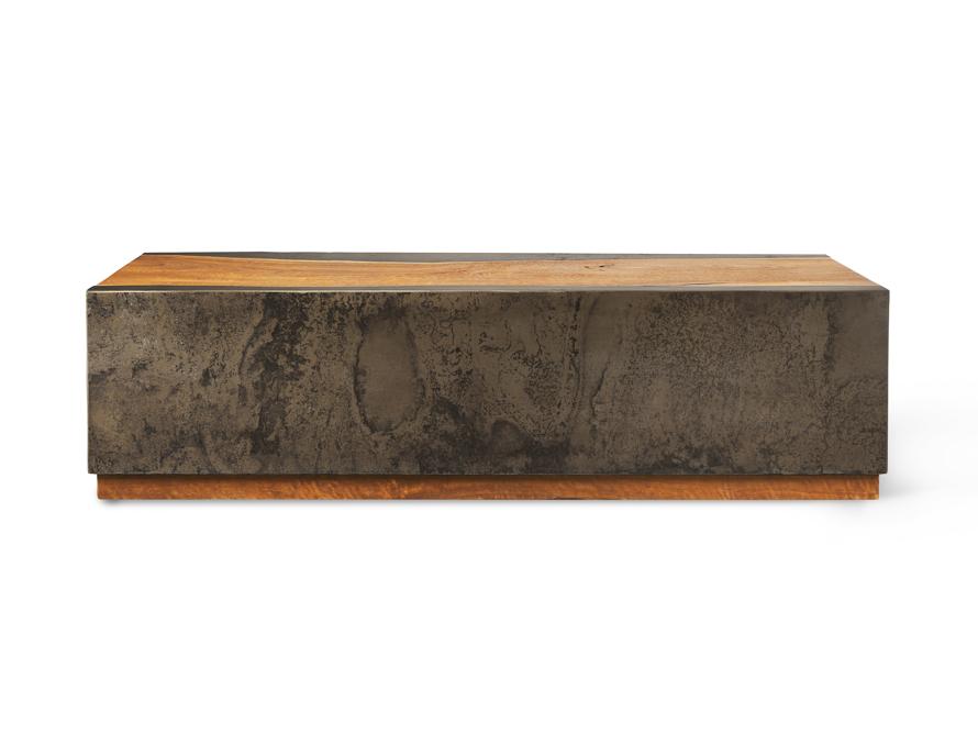 "Acacius 55"" Wood Coffee Table, slide 7 of 7"