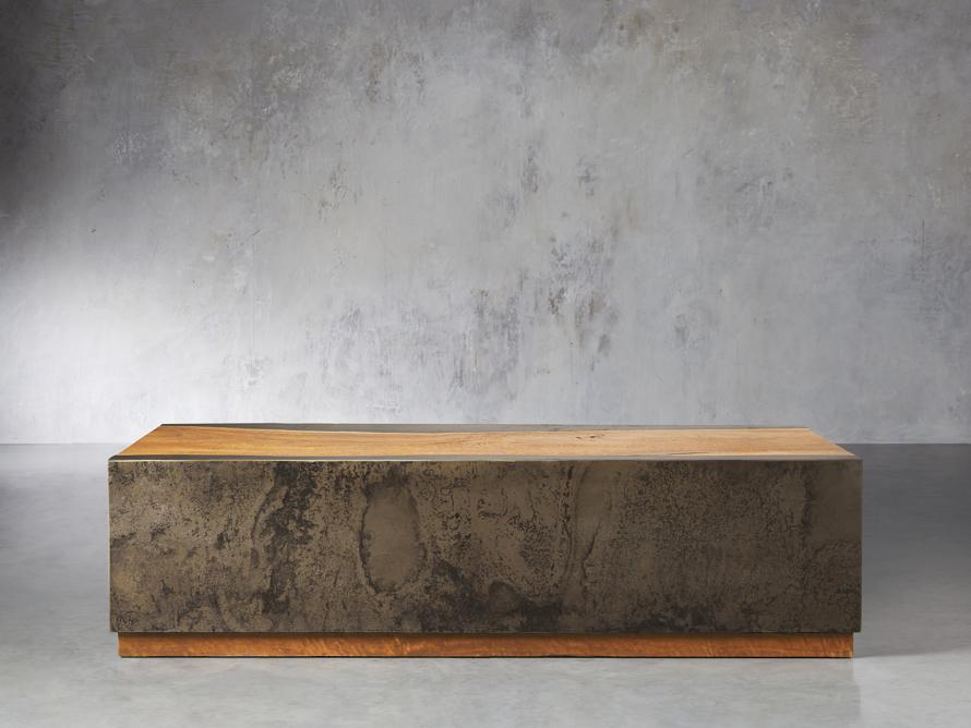 "Acacius 55"" Wood Coffee Table, slide 2 of 8"