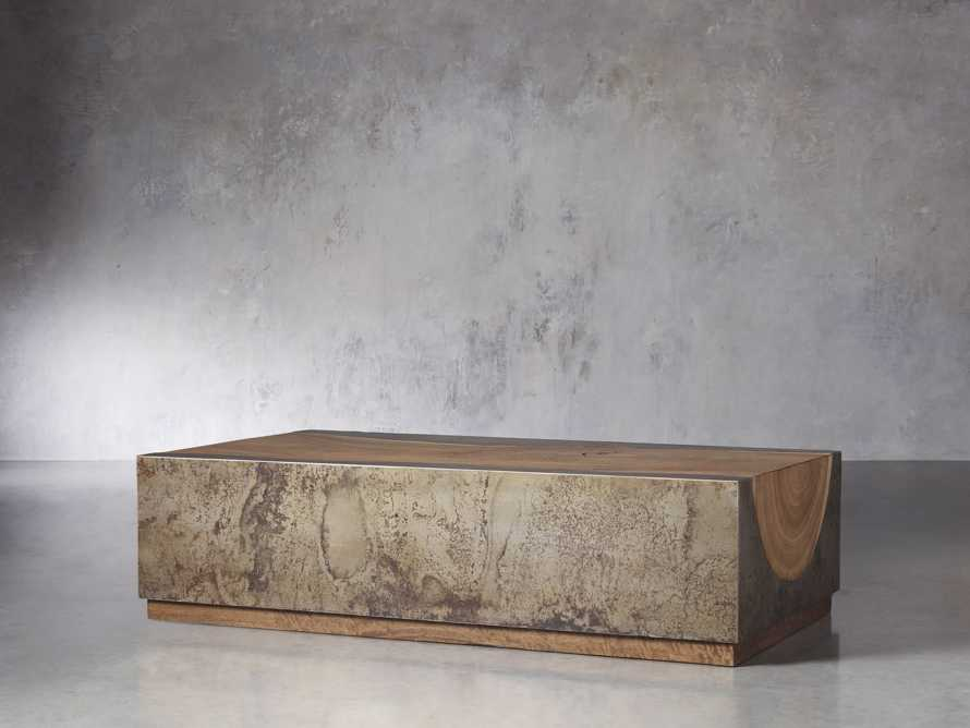 "Acacius 55"" Wood Coffee Table, slide 3 of 8"