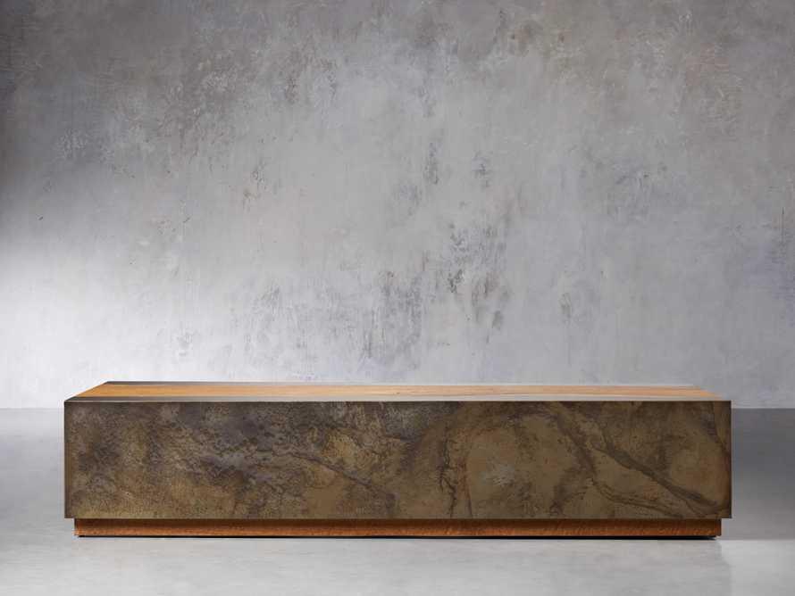 "Acacius 72"" Wood Coffee Table, slide 1 of 5"