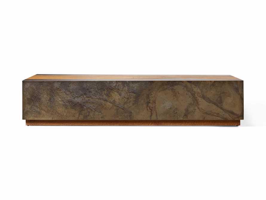 "Acacius 72"" Wood Coffee Table, slide 5 of 5"