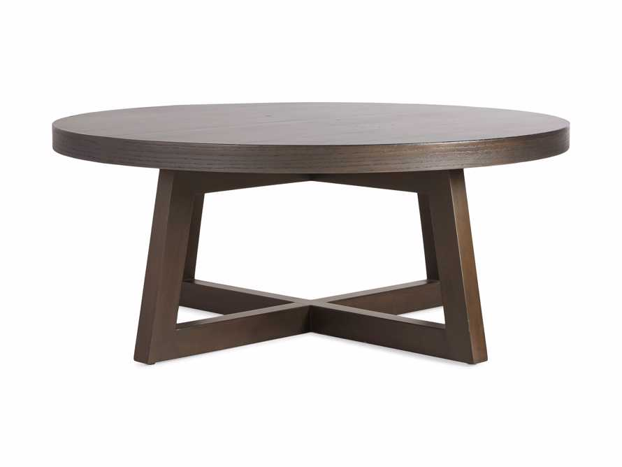 "Acero 42"" Round Coffee Table, slide 7 of 7"