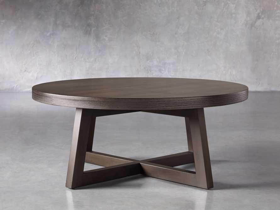 "Acero 42"" Round Coffee Table, slide 1 of 7"