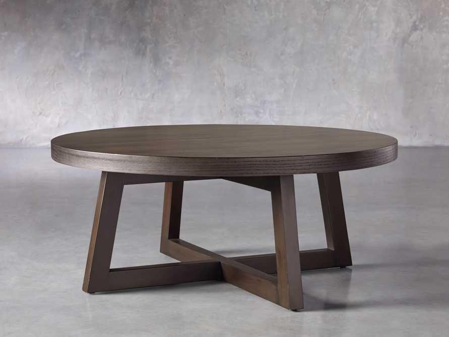 "Acero 42"" Round Coffee Table, slide 2 of 7"