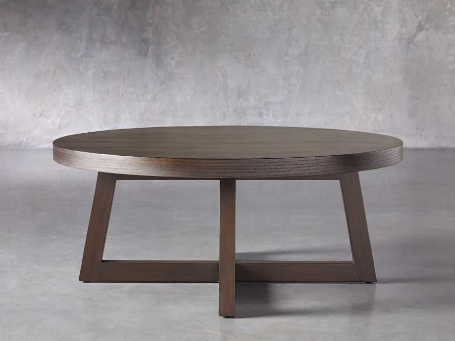"Acero 42"" Round Coffee Table, slide 3 of 7"