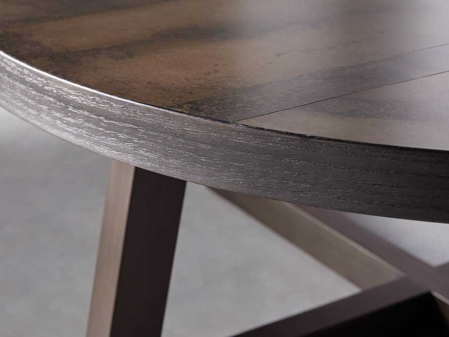"Acero 42"" Round Coffee Table, slide 4 of 7"