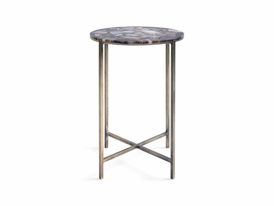 "Agate 14"" Martini Table in Black, slide 4 of 6"