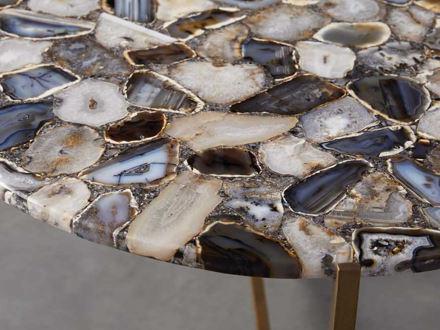 """Ludlow Agate 27"""" End Table in Black, slide 2 of 4"""