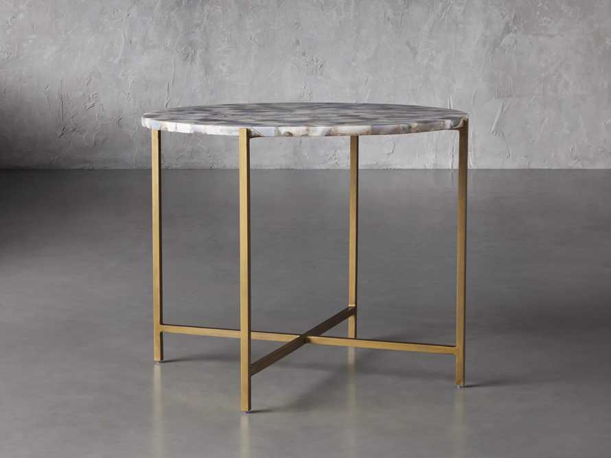 """Ludlow Agate 27"""" End Table in Grey, slide 1 of 4"""