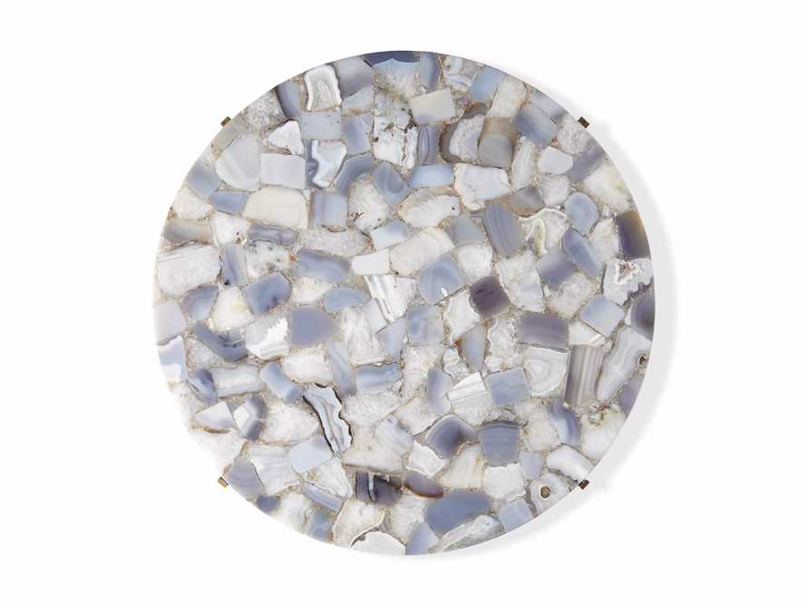"""Ludlow Agate 27"""" End Table in Grey, slide 4 of 4"""