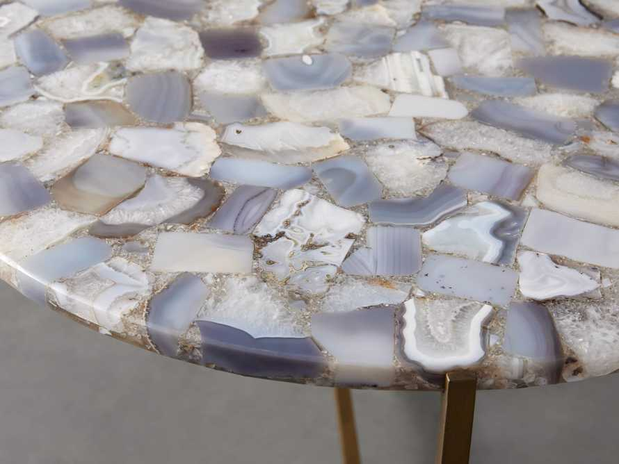 """Ludlow Agate 27"""" End Table in Grey, slide 2 of 4"""