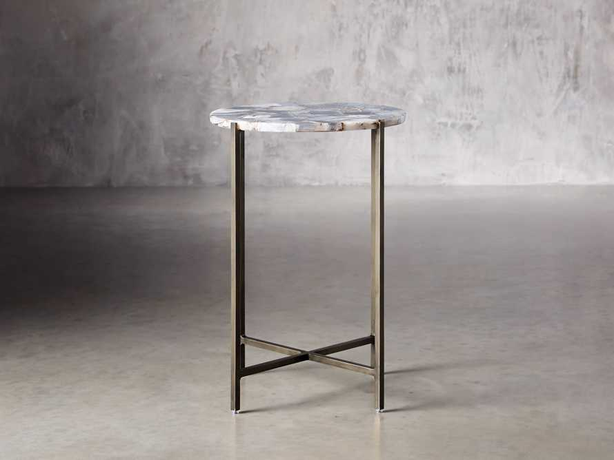 "Agate 14"" Martini Table in Grey"
