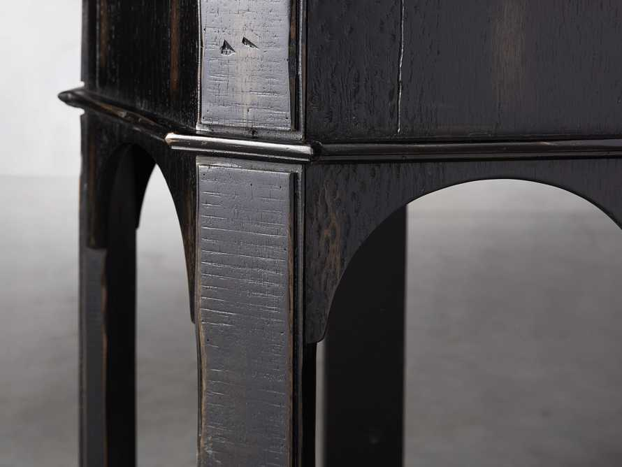 "Allegro 24"" End Table In Rubbed Noir, slide 3 of 5"