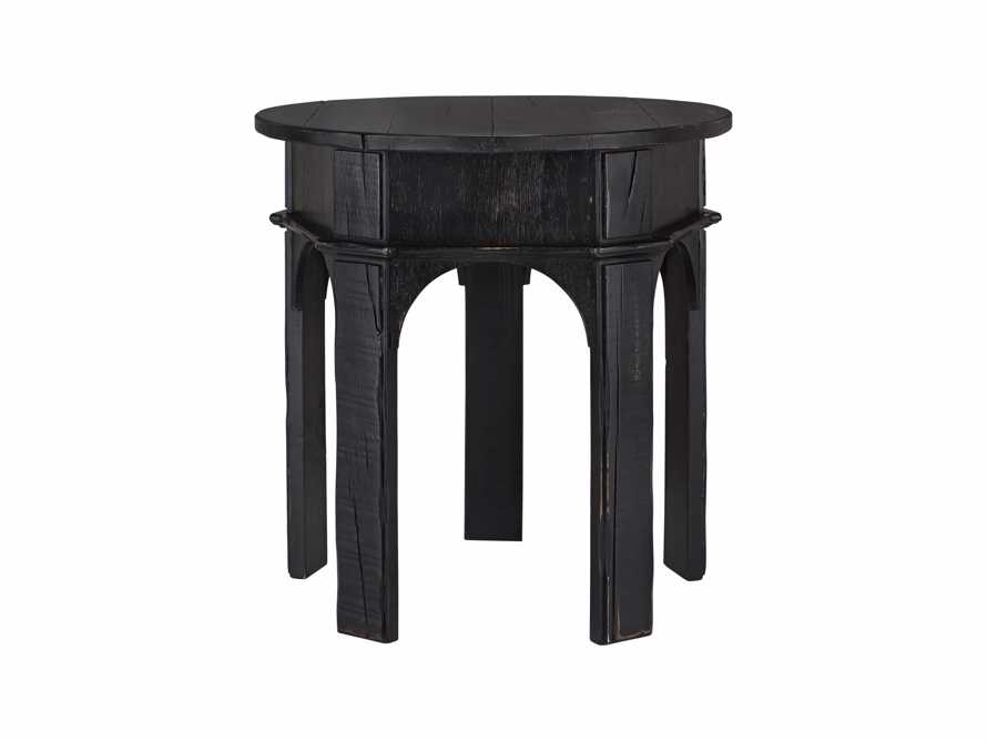 "Allegro 24"" End Table In Rubbed Noir, slide 5 of 5"