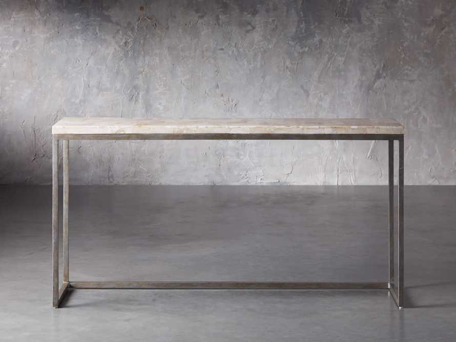 "Arielle 60"" Console Table, slide 1 of 9"