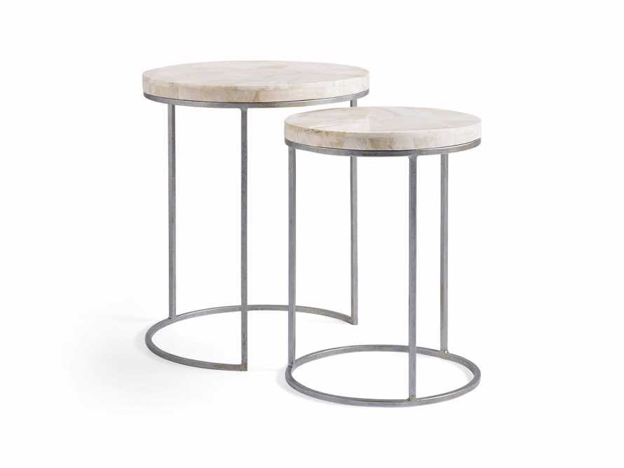 "Arielle 20"" Nesting Table Set"