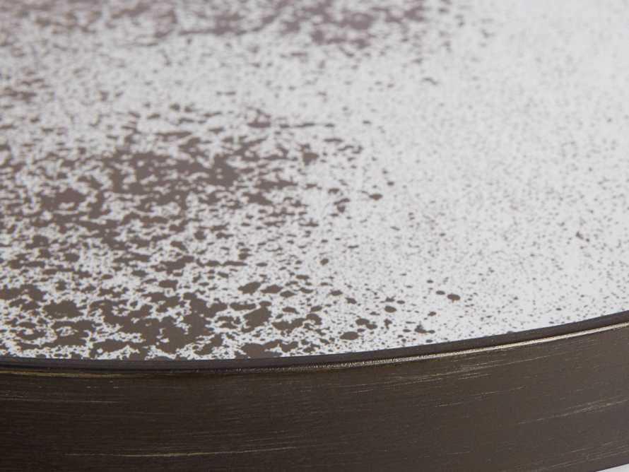 Arnhem White Slice and Aged Mirror Nesting Coffee Table, slide 3 of 5