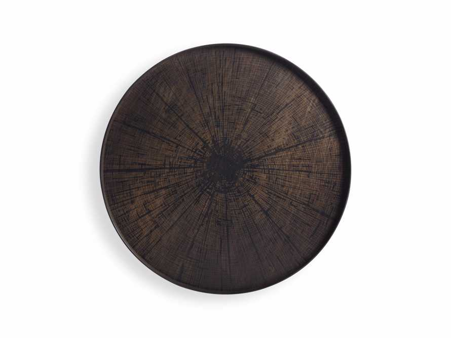 """Arnhem 36"""" Black Slice Tray"""