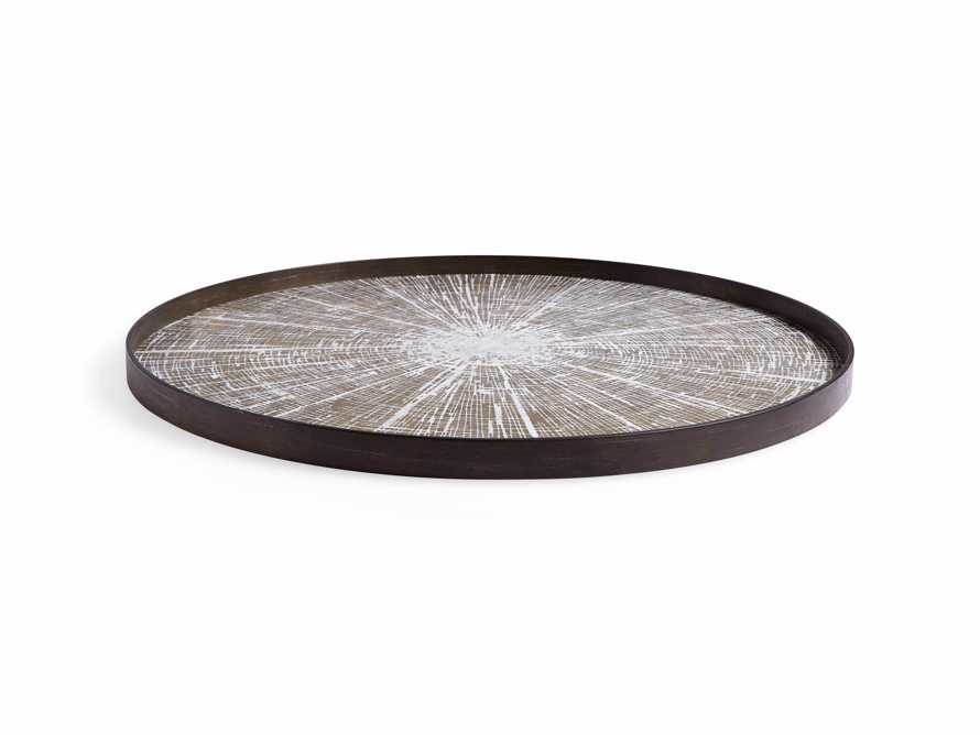 "Arnhem 36"" White Slice Tray"