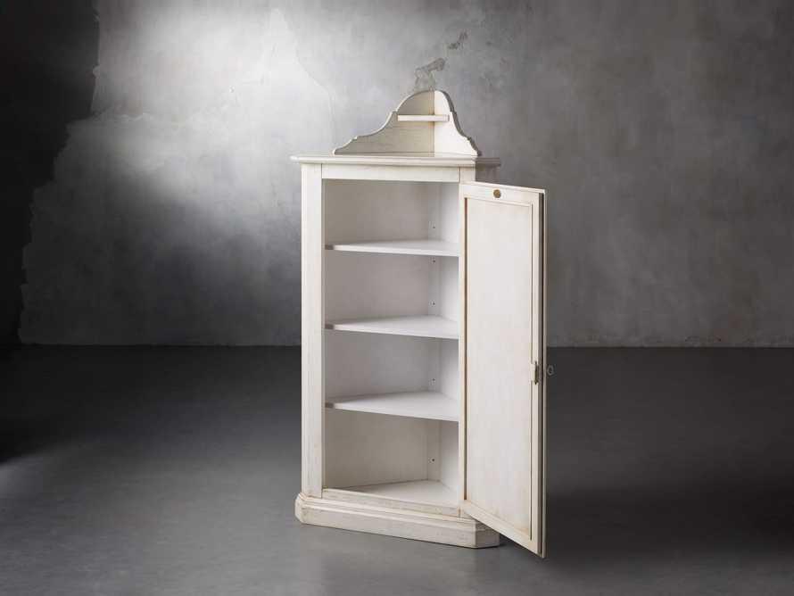 """Artigiano 33"""" Corner Cabinet, slide 3 of 9"""