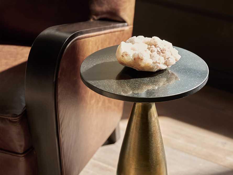 "Martini Tables 14"" Martini Table in Brass, slide 5 of 9"