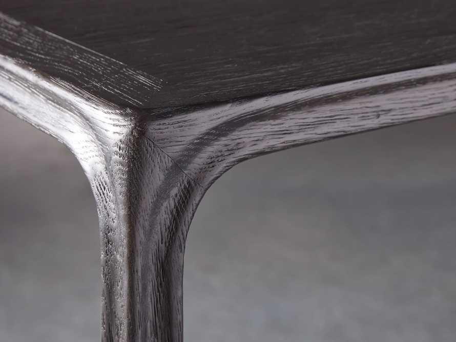 """Bertogne 63"""" Console Table in Dark Ebony, slide 4 of 6"""