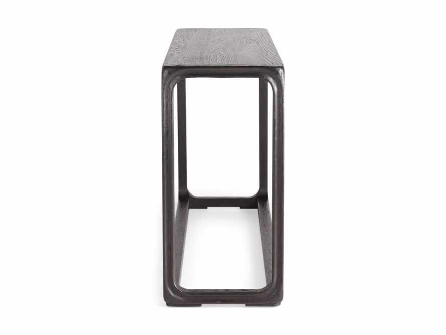 """Bertogne 63"""" Console Table in Dark Ebony, slide 6 of 6"""