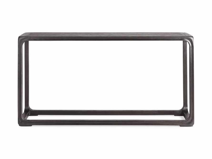 """Bertogne 63"""" Console Table in Dark Ebony, slide 5 of 6"""