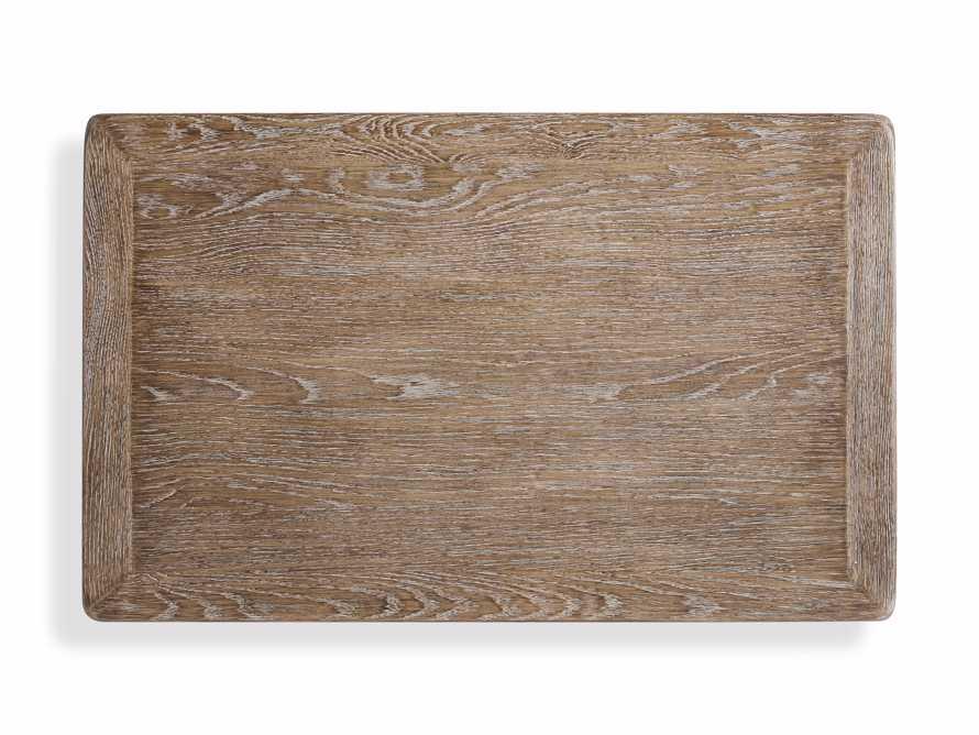 """Bertogne 38"""" Shelf End Table in Bertogne Brown, slide 8 of 8"""
