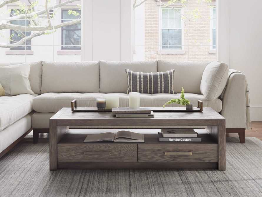 """Bodhi 62"""" Coffee Table in Salvaged Grey, slide 1 of 5"""