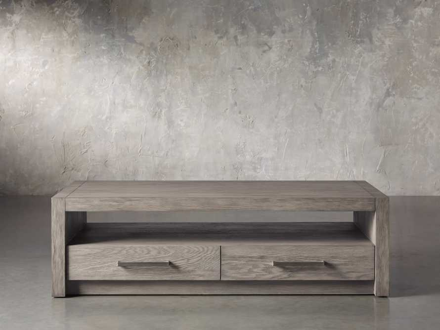 """Bodhi 62"""" Coffee Table in Salvaged Grey, slide 2 of 5"""