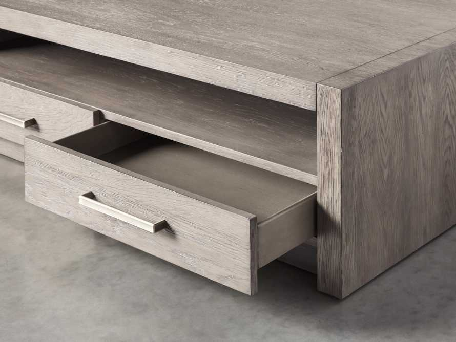 """Bodhi 62"""" Coffee Table in Salvaged Grey, slide 4 of 5"""