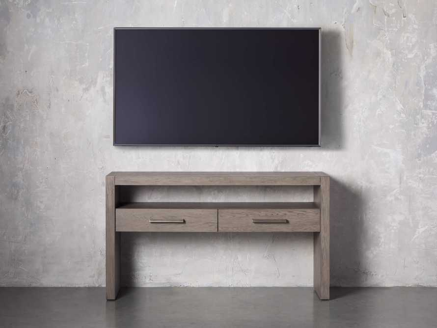 """Bodhi 60"""" Console Table in Salvaged Grey, slide 4 of 5"""